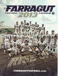 2013 AD PROGRAM COVER